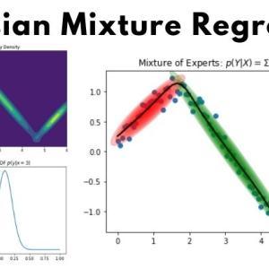 【ベイズ推定】GMR(Gaussian Mixture Regression)入門 -GMMによるクラスタリングから回帰分析まで-