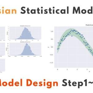 【pyro】ベイズ統計モデルの設計手順メモ