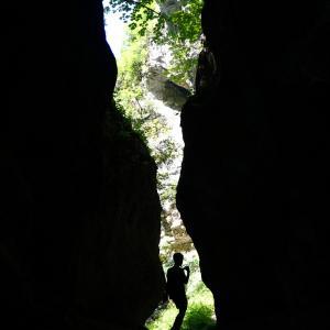 峡谷で極上サラミを食べるの巻 verso le Marche vol.4