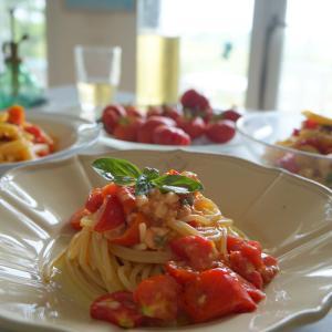 生トマトソース il sugo di pomodoro crudo