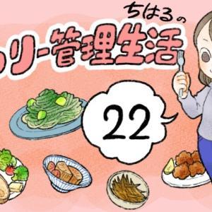 カロリー管理生活(22) 21日目~22日目たべたものまとめ