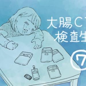 大腸CT検査生活⑦ 夜ご飯とお薬