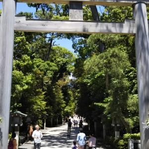 寒川神社⛩️参拝  令和元年 6/16