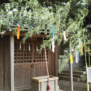 検見川神社⛩️参拝  令和元年 7/3