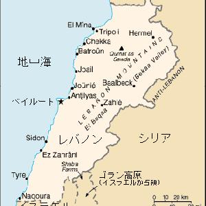 地図(レバノン)