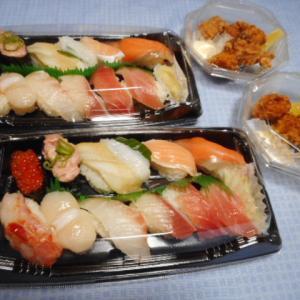 実食!【かっぱ寿司のテイクアウト】贅沢盛り&から揚げ