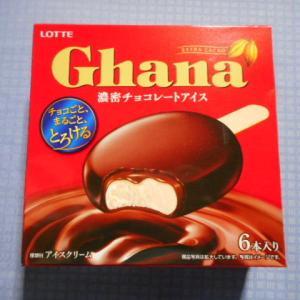 実食!【ロッテアイス】ガーナ 濃密チョコレートアイス