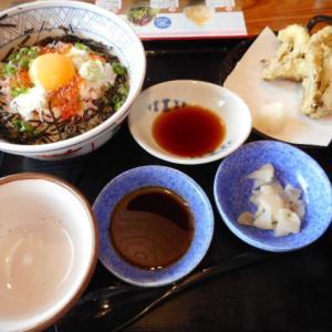 実食!【夢庵】月見いくらねぎとろ丼セット/ホクホク安納芋とソフトクリーム