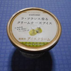実食!【eatime】ラ・フランス香るクリームチーズアイス