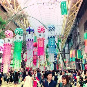 仙台七夕まつりに行ってきました