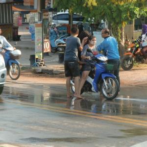 タイ正月大晦日
