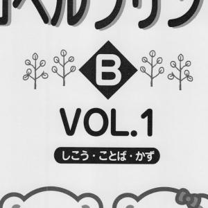 コペルプリントA VOL.5修了!コペルプリントB VOL.1へ【3歳6か月】Starting copel print B vol.1