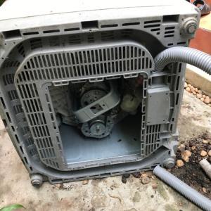 苦闘の洗濯機