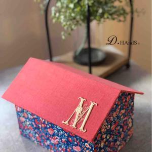 サティフィカレッスン ハウス型の箱