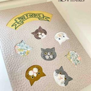 サティフィカレッスン 猫刺繍レシピ帳