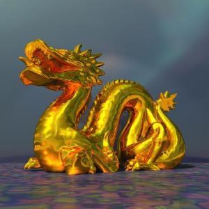 ドラゴンのCG:2020.07.25