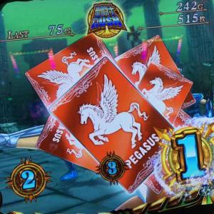 【星矢 海皇覚醒】強パターン!?特化ゾーンの前兆で赤カード出現!