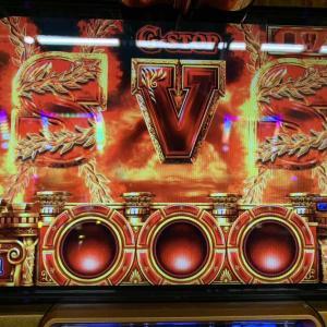 【ミリオンゴッド神々の凱旋】リプ4G-STOPからSホールド!!