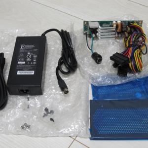 J3160マシンのKRPW-AC120Wアダプター電源化とついでにVersa H18ケースに交換
