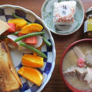 今日のご飯≪温野菜サラダ≫