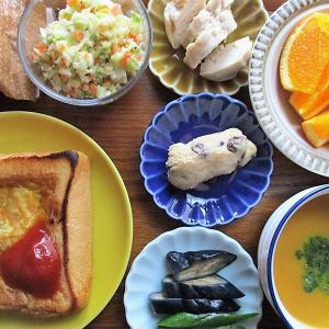 今日のご飯≪卵トースト≫