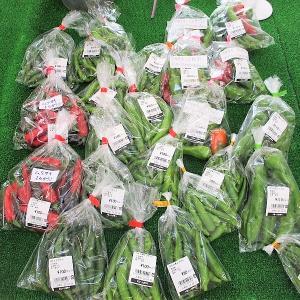 野菜即売所へ行く