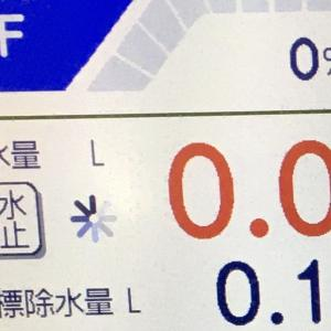 中2日除水0.1キロ