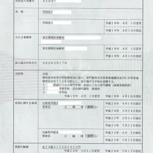 港区南麻布私立共学校 理事長 池田富一(仮称)他が開示請求訴訟に踏み切る