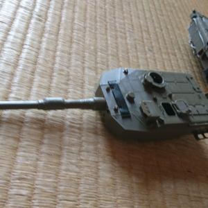 90式戦車の砲塔をつくる