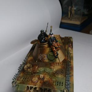 戦車兵&武装擲弾兵を製作