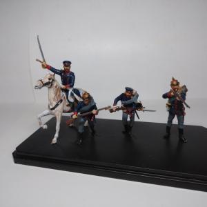 【完成&塗装記】ICM   1/35   プロシア歩兵(1870-71年)