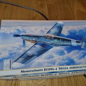 """【完成&製作記】1/48  ハセガワ  Bf109G-4  """"イタリア王国空軍"""""""