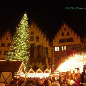 【クリスマスマーケット巡り 旅行記】おすすめの都市 その4 食べ物が充実!!!フランクフルト(ドイツ)のクリスマスマーケットに行こう♪
