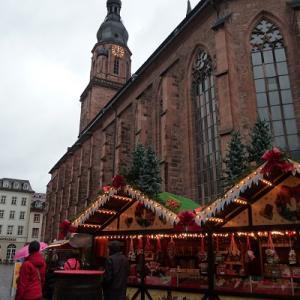 【クリスマスマーケット巡り 旅行記】おすすめの都市 その12 古い歴史も感じられる古城街道の古都!!! ハイデルベルク(ドイツ)のクリスマスマーケットに行こう♪