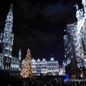 【クリスマスマーケット巡り 旅行記】おすすめの都市 その9 世界で最も美しい広場がクリスマスでさらに!!! ブリュッセル(ベルギー)のクリスマスマーケットに行こう♪