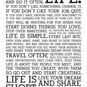 人生は短い。