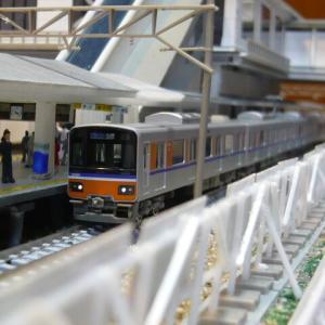 北坂芦駅レイアウト この2(東武50090系)