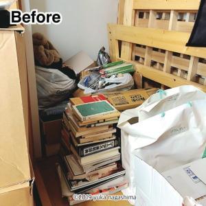 【実録☆ビフォーアフター】床に直置きのクローゼットとはサヨナラだ!(出張お片付け事例)
