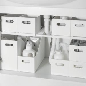 【ニトリ新商品】幅13㎝のファイルボックス?!洗面台下収納として「クラネ」が新発売!