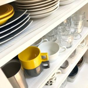 【わが家の収納】2020年版 食器棚の収納~無印良品がシンデレラフィット!