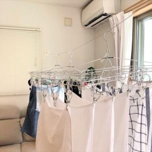 【愛用品】梅雨の部屋干しでも気分を下げないための 洗たくハンガー