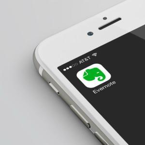 【Evernote】iPhoneで、エバーノートのカメラを素早く起動させるには?