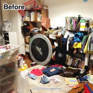 【実録☆ビフォーアフター】洋服のお下がりが大量に来る!家族の衣装部屋の片付け(出張お片付け事例)