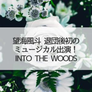 望海風斗ミュージカル「INTO THE WOODS」出演と事務所所属!