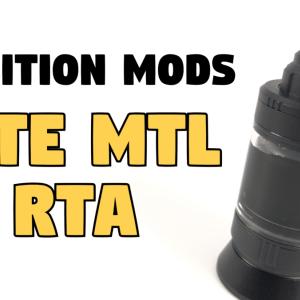 【RTA】Ambition Mods『Gate MTL RTA』1週間使用レビュー