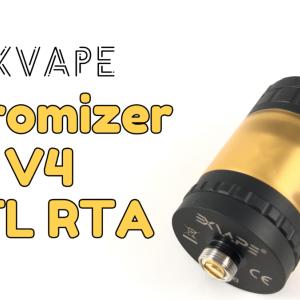 【RTA】Exvape『Expromizer V4 MTL RTA』1週間レビュー