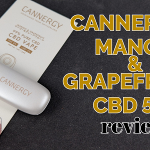 【使い切りタイプ】CANNERGY『CG1S Mango&Grapefruits CBD5%』レビュー