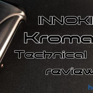 【テクニカルMOD】INNOKIN KROMA-R 80W レビュー「クールなデザインのMOD」