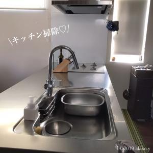 【キッチン掃除】ステンレスシンクを徹底的にアレでお掃除!