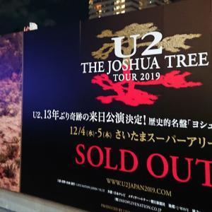 ☆U2 The Joshua Tree Tour 2019 Tokyo Day1_2019/12/04